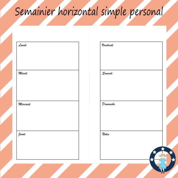 pages-pour-planner-personal-semainier-horizontal-simple